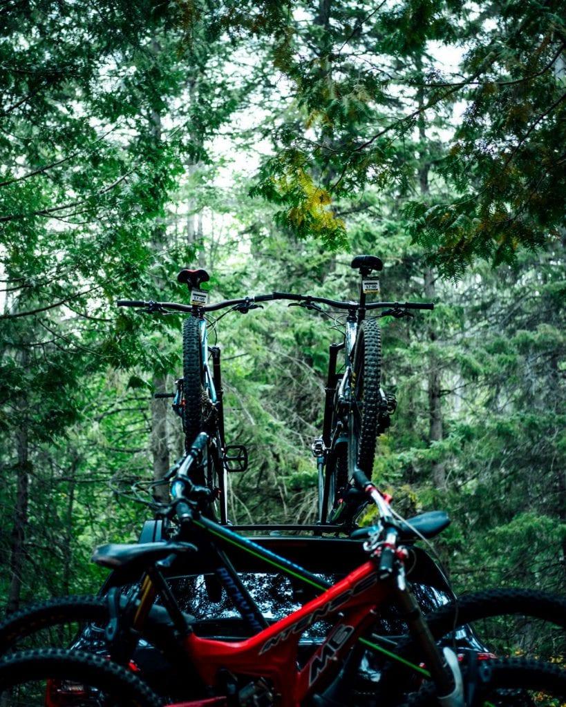 Grand porte-vélo