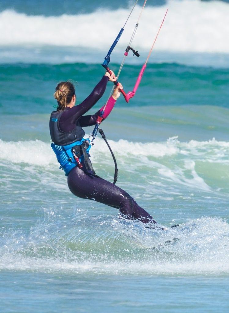 Activités de rentrée : kitesurf
