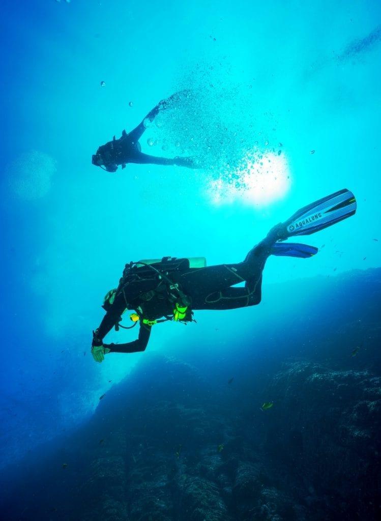 Activités de rentrée : plongée