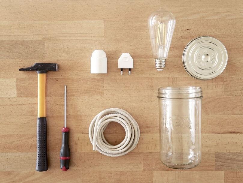 Lampe bocale : le matériell