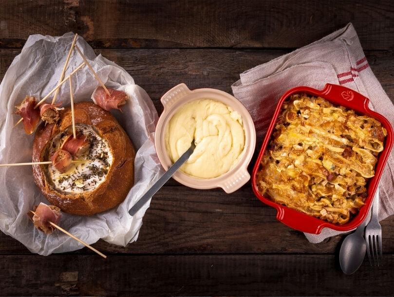3 recettes au fromage pour l'hiver