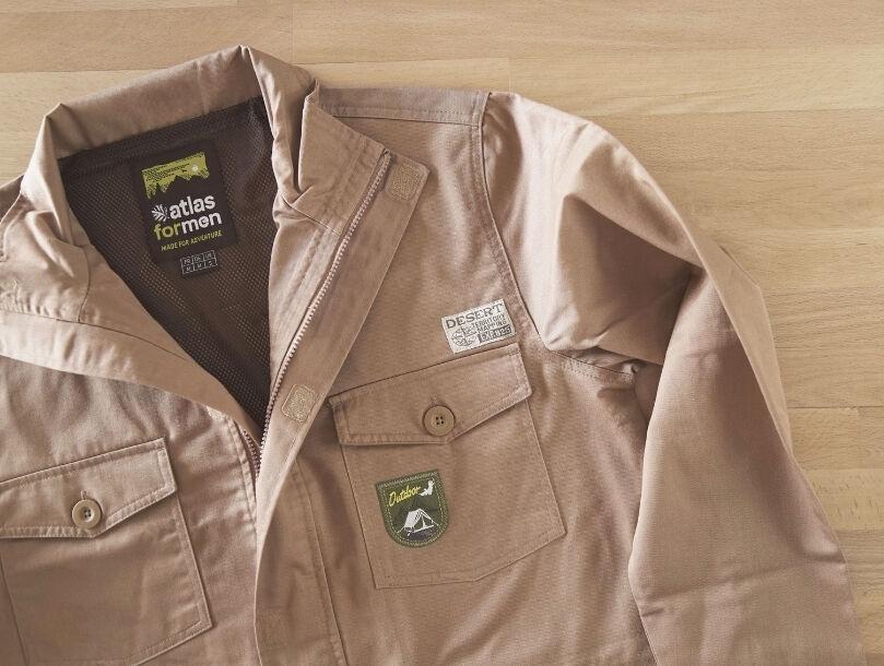 Personnaliser une veste avec un badge