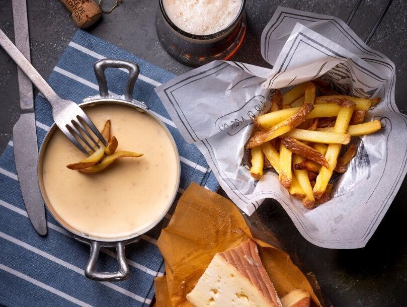 frites sauce aux maroilles