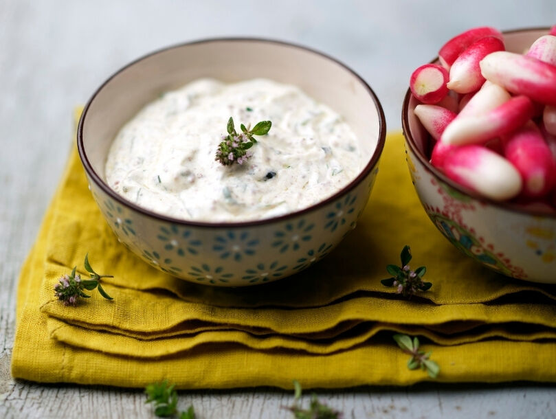 sauce aux yaourt