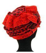 Bonnet femme hiver laine ARNOLD rouge preview3