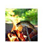 Broche Grandpa's FireFork Light My Fire orange preview3