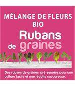Ruban de Graines de Mélange de Fleurs Utiles Bio preview1