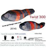Twist - un sac de couchage qui bouge avec vous - 1 personne. 8°c / -12°c preview2
