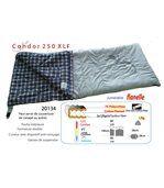 Condor 250xlf - sac de couchage, couverture flanelle. 12°c / -7°c preview2