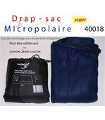 Drap sac de couchage d'appoint micropolaire preview2