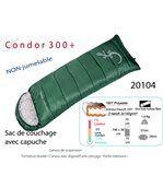 Condor 300+ - sac de couchage avec capuche . 1°c / -11°c preview2
