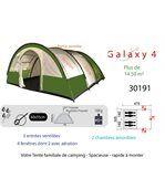 Galaxy 4 - tente familiale tunnel,tente 4/5 personnes preview2