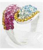 Bague Femme Argent Diamants Cz DAPHNEE 202 preview2