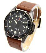 Montre pour Homme en Cuir Chocolat NAVIFORCE 2887 preview1