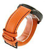 Montre Fashion Homme Cuir Orange NAVIFORCE 1284 preview3