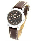 Montre Femme Fantaisie Cuir Chocolat ONLYOU 1123 preview1