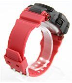 Montre Homme Sport x2 Affichages en Silicone Rouge 2297 preview2