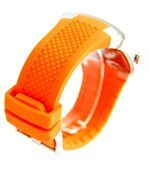 Montre Homme Dble-Cadran Bracelet Silicone Orange SPEATAK 2425 preview3