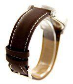 Montre Homme Bracelet Cuir Chocolat ONLYOU 1336 preview2