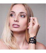 Bracelet Femme Silicone Noir Hibiscus LADY GUM 1240 preview2