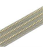 Bracelet de Femme Cuir Gris Incrusté DAPHNEE 1196 preview1