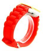 Montre Automatique de Femme Silicone Rouge 839 preview2