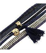 Bracelet Femme avec Cuir Bleu Incrusté DAPHNEE 1144 preview1