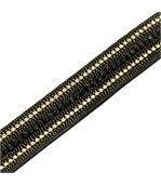 Bracelet FantaisieFemme Cuir Noir Incrusté DAPHNEE 1201 preview1