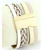 Montre de Femme Cuir Beige Diamants Cz HIPPIE 2351 preview2