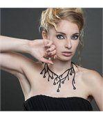 Collier Femme Silicone Noir Primavera LADY GUM 1234 preview4