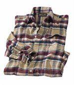 Geruit flanellen overhemd preview1