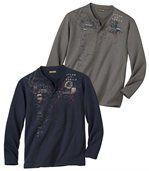 Lot de 2 Tee-Shirts Terra del Fuego preview1