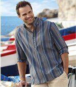 Overhemd met korte knopenlijst preview1