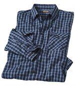 Рубашка из Поплина в Клетку preview2