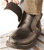 Boots Scratchées Fourrées preview3