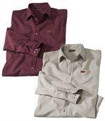 Комплект Фланелевых Рубашек — 2шт.