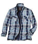Утепленная Рубашка с Подкладкой из Шерпы preview1