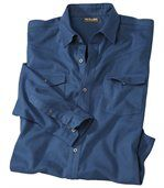 Chemise Flanelle Indigo preview2