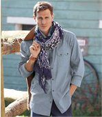 Chemise Chambray Destination Western  preview1