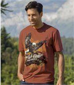 Tee-shirt Imprimé Pygargue preview1
