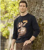 Tee-Shirt Manches Longues Loups preview1