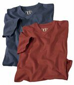 Lot de 2 Tee-Shirts Sedona preview1
