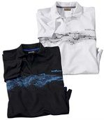 Lot de 2 Polos Sport Summer preview1