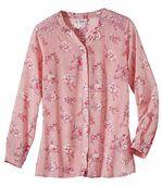 Блуза из Муслина с Цветочным Принтом preview2
