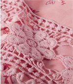 Блуза из Муслина с Цветочным Принтом preview4