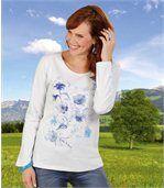 Tee-Shirt Fleur Bleue preview1