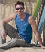 Set van drie mouwloze shirts 'Windsurf' preview2