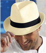 Шляпа Трилби из Плетеной Соломы preview1