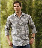 Chemise Popeline Camouflage preview1