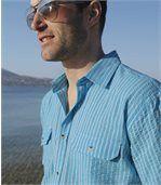 Рубашка из Гофрированного Хлопка preview2